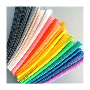 PET Expandable Braided Sleeving (COLORS by the Spool)